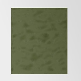 Relief royal lilies Throw Blanket