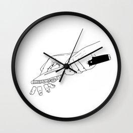 Bon Appetit Wall Clock