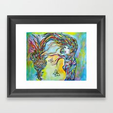 Threads Framed Art Print