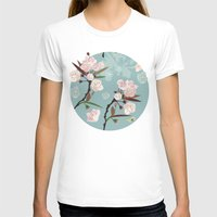 cherry blossoms T-shirts featuring Cherry-Blossoms by Niloufer