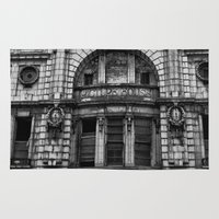liverpool Area & Throw Rugs featuring Liverpool Picture House by Mark Nelson