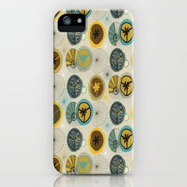 Pies in Mod style iPhone Case
