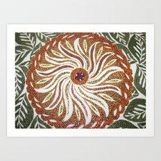Flower #3 Art Print