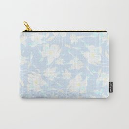 Spring Day Flowers Carry-All Pouch