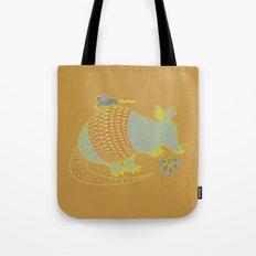 Southwest Armadillo Tote Bag