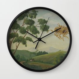 Flying Spaghetti Monster Wall Clock