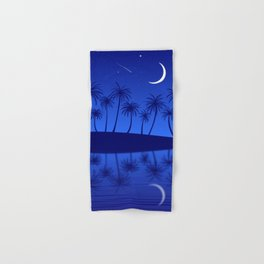 Blue Island Starry Sky Hand & Bath Towel