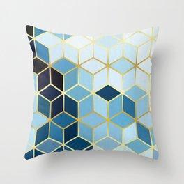 Golden pattern I Throw Pillow