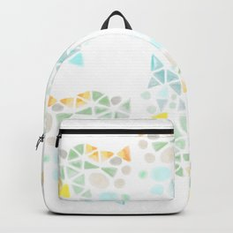 Minimalist abstract landscape Backpack