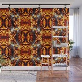 Fractal Art - Fire Pattern I Wall Mural
