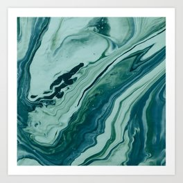 Blue Planet Marble Kunstdrucke