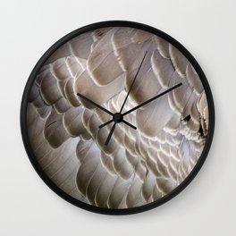 Plumes d'oie Wall Clock
