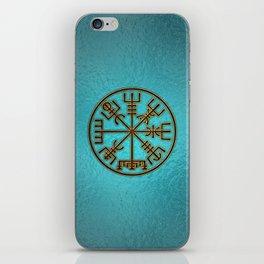 Vegvisir. The Magic Navigation Viking Compass iPhone Skin