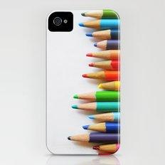 Pencils iPhone (4, 4s) Slim Case