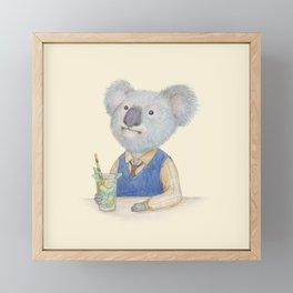 koala Framed Mini Art Print