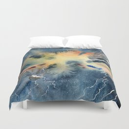 Negative Entropy Duvet Cover