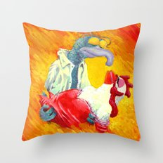 Gonzo With The Wind Throw Pillow