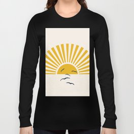 Minimalistic Summer I Long Sleeve T-shirt