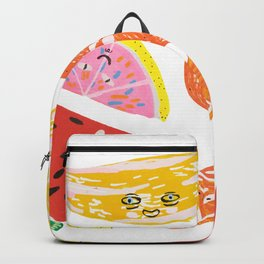 Eat fruits or they will eat you Backpack