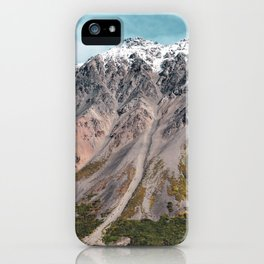 Painted Mountains of Alaska iPhone Case