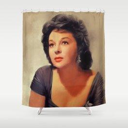 Susan Hayward, Vintage Actress Shower Curtain