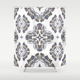 BUTTERFLY Ornamental Shower Curtain