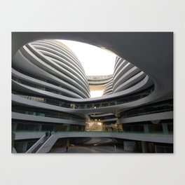 Zaha H A D I D | architect | Galaxy Soho, Beijing Canvas Print