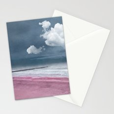 LONELY BEACH Stationery Cards