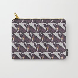 seal eating pizza Carry-All Pouch