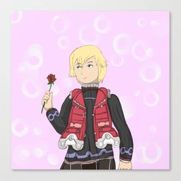 This is the Monados Flower Canvas Print