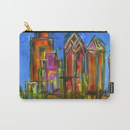 Philly Neon Skyline Carry-All Pouch