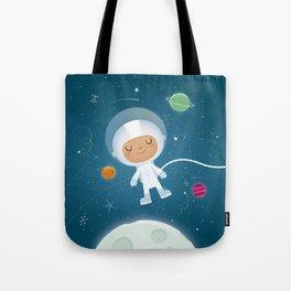 Little Astronaut Tote Bag