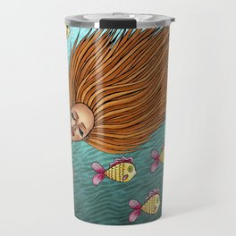 We belong to the sea Travel Mug