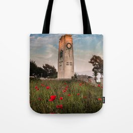 Swansea cenotaph memorial Tote Bag