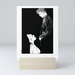 asc 274 - La possession de Marie Magdala (The possession of Mary Magdalene) Mini Art Print