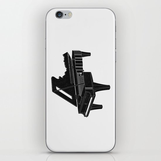 Music Is The Key B iPhone & iPod Skin