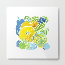 New Fruits Metal Print