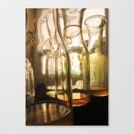 Looking Through the Glass Canvas Print