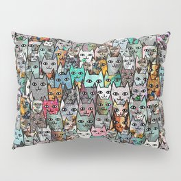 Gemstone Cats Pillow Sham