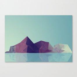 Landscape study 01. Canvas Print