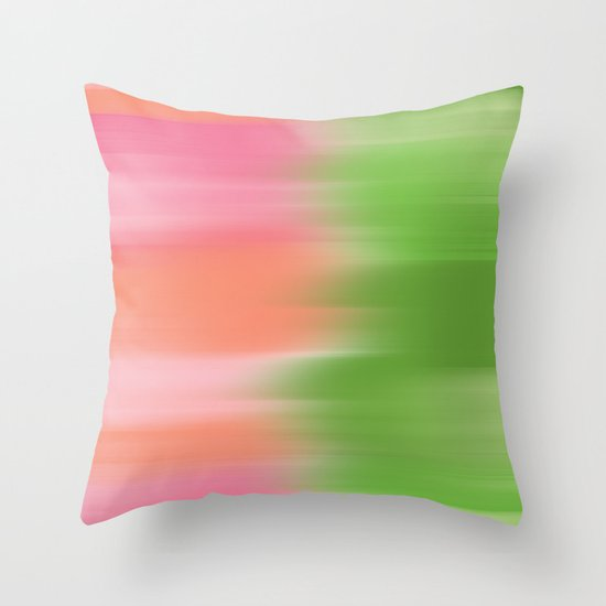 Summers Garden Throw Pillow