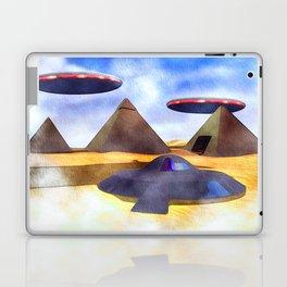 Ancient Aliens - UFO Pyramids Laptop & iPad Skin
