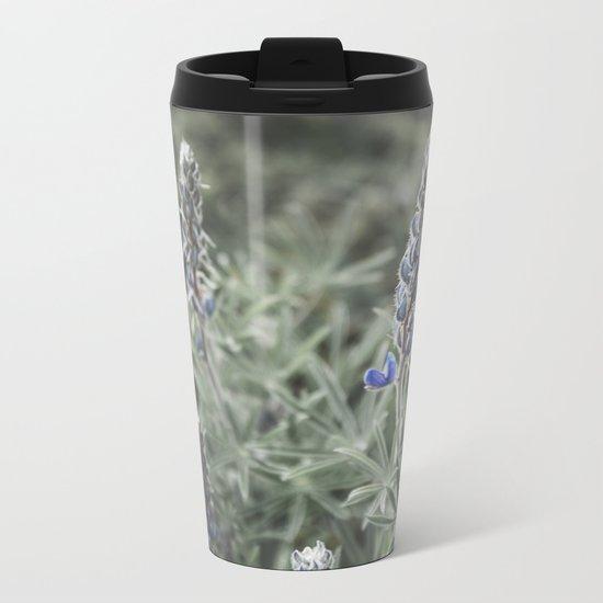 Wildflowers | Botanical Photography | Plant | Flowers | Nature Metal Travel Mug