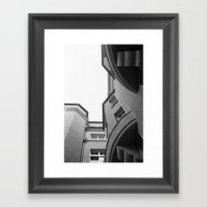 House. Framed Art Print