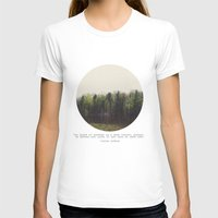 photograph T-shirts featuring Dark Forest by Tina Crespo