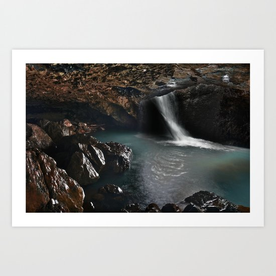 Natural Bridge Art Print
