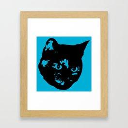 Tortoiseshell Kitty Framed Art Print
