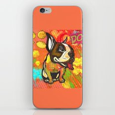 Dog pop art iPhone & iPod Skin