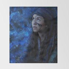 emori galaxy Throw Blanket