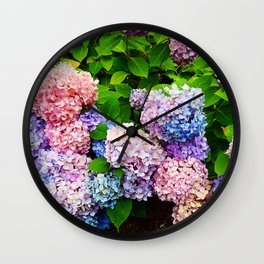 Bouquet of Colors Wall Clock